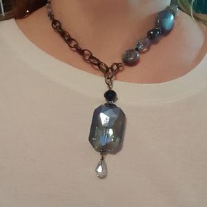 Artisan crafted boho necklace